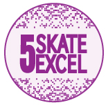 Skate Excellence Shop - Grade 5 Badge