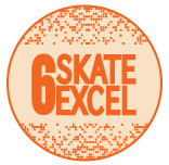 Skate Excellence Shop - Grade 6 Badge