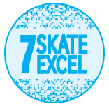 Skate Excellence Shop - Grade 7 Badge