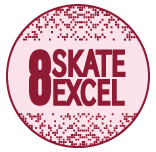 Skate Excellence Shop - Grade 8 Badge