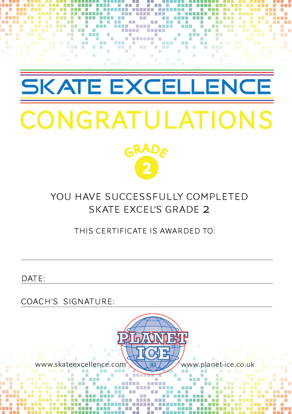 Skate Excellence Shop Pi Grade 2 Certificate